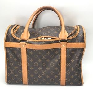 LOUIS VUITTON Monogram Pet Carrier Sac Chien 40